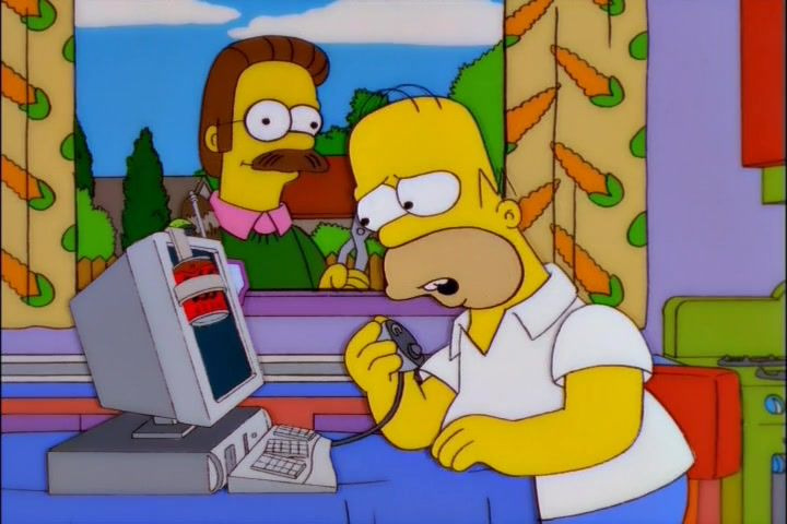 The Simpsons — s12e06 — The Computer Wore Menace Shoes