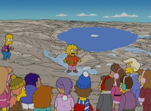 The Simpsons — s16e11 — On a Clear Day I Can't See My Sister