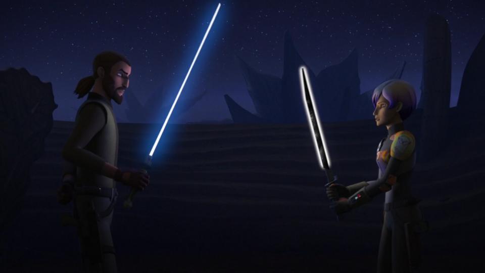 Star Wars Rebels — s03e15 — Trials of the Darksaber