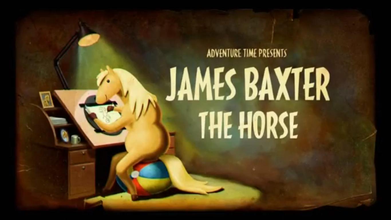 Время приключений — s05e19 — James Baxter the Horse