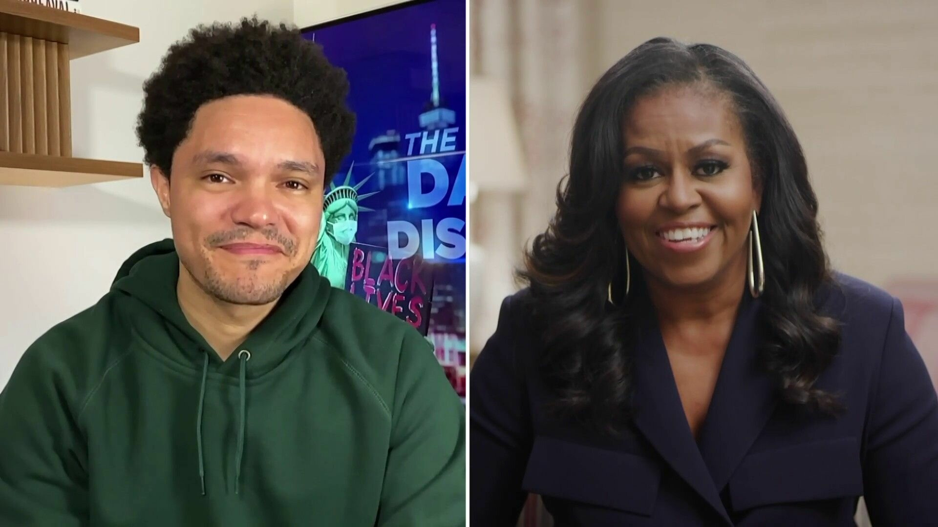 The Daily Show with Trevor Noah — s2021e32 — Michelle Obama