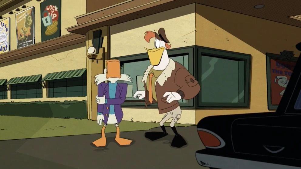 Утиные истории — s02e16 — The Duck Knight Returns!
