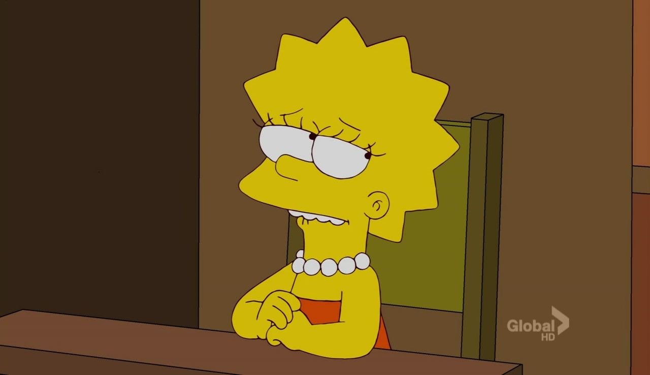 The Simpsons — s23e11 — The D'oh-cial Network