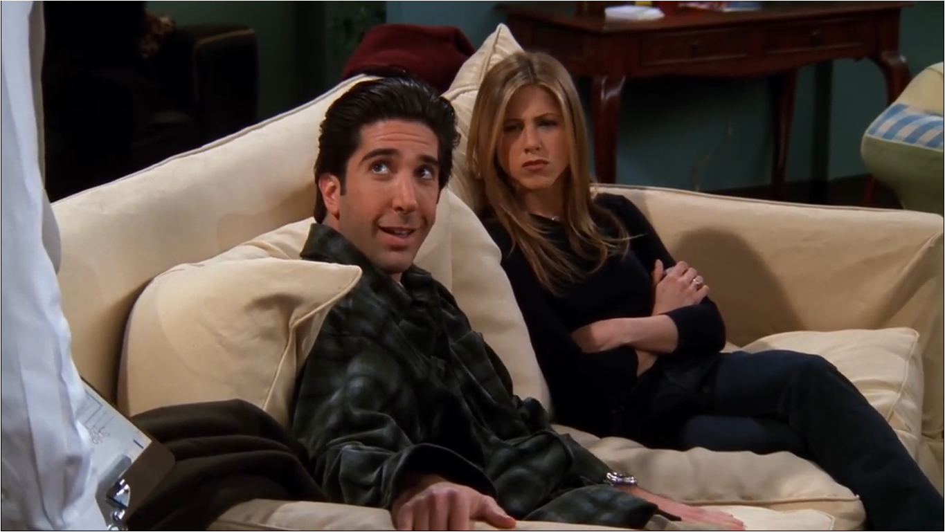 Друзья — s05e16 — The One With the Cop