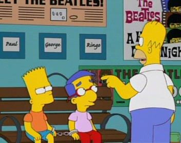The Simpsons — s14e21 — The Bart of War