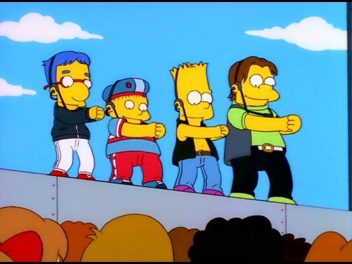 The Simpsons — s12e14 — New Kids on the Blecch