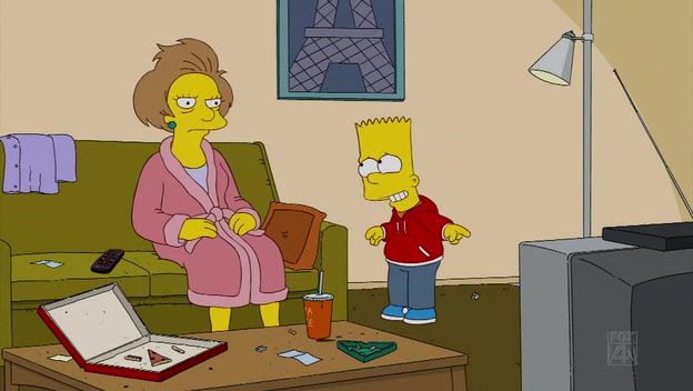 The Simpsons — s21e02 — Bart Gets a 'Z'