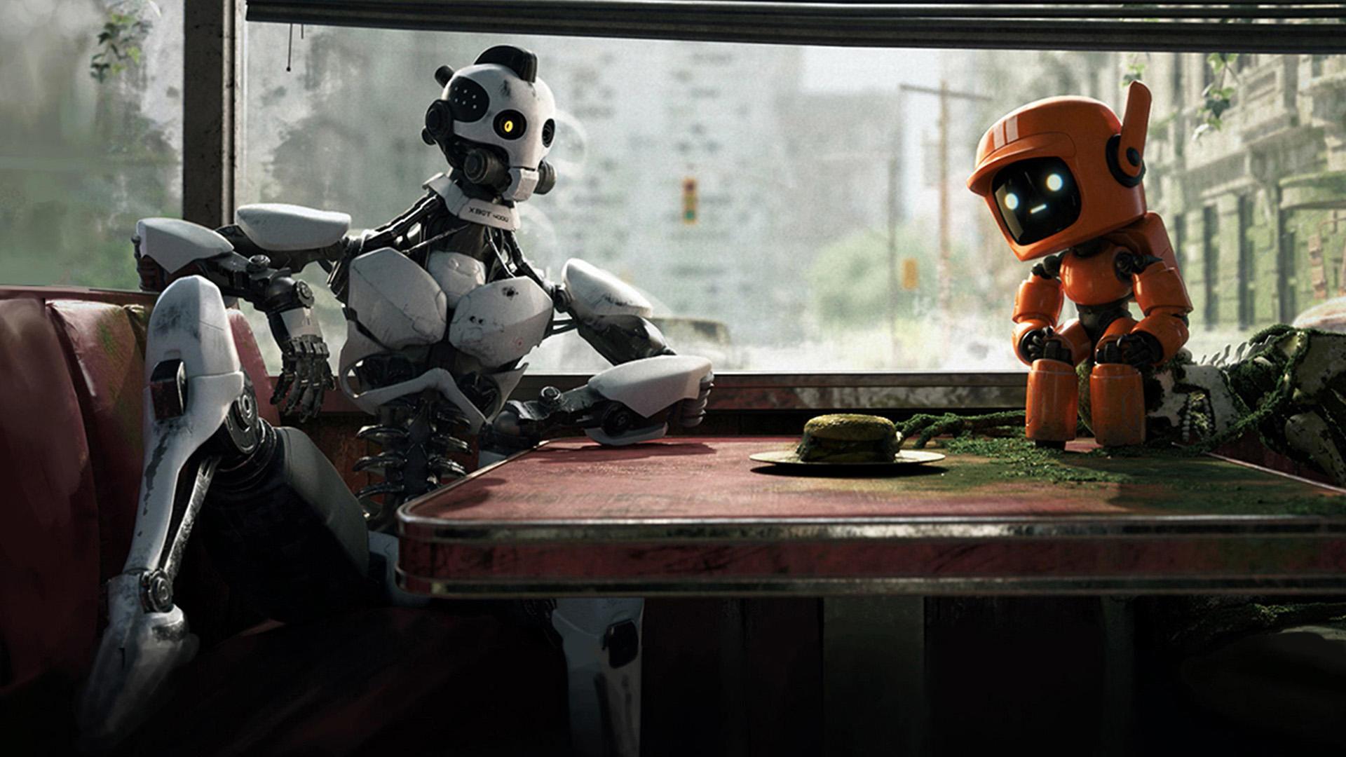 Любовь, смерть и роботы — s01e02 — Three Robots