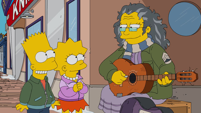 The Simpsons — s27e14 — Gal of Constant Sorrow