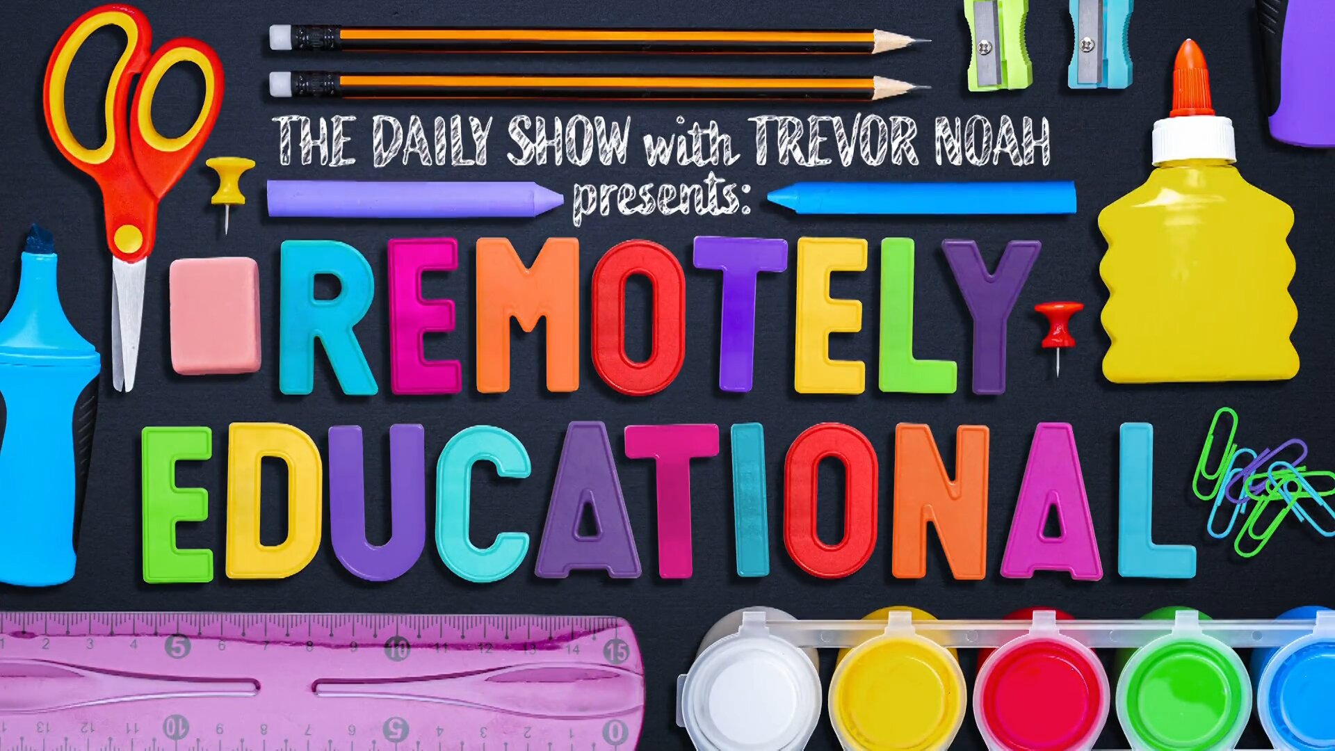 The Daily Show with Trevor Noah — s2021 special-1 — The Daily Show With Trevor Noah Presents Remotely Educational