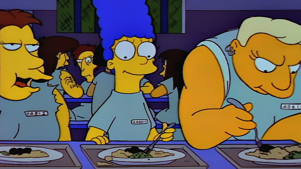 The Simpsons — s04e21 — Marge in Chains