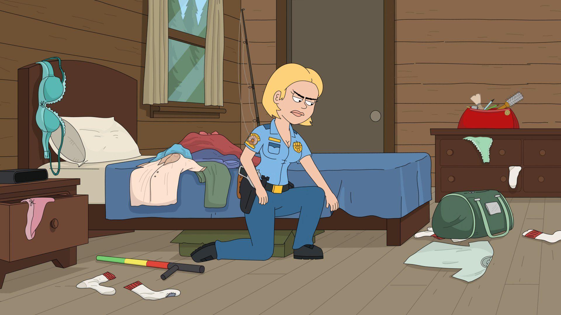 Полиция Парадайз — s02e07 — Paradise PD Meets Brickleberry