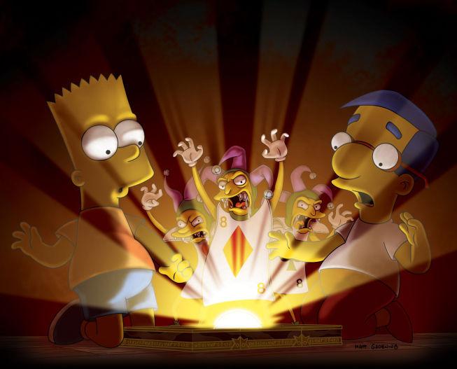 The Simpsons — s22e04 — Treehouse of Horror XXI
