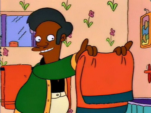 The Simpsons — s05e13 — Homer and Apu