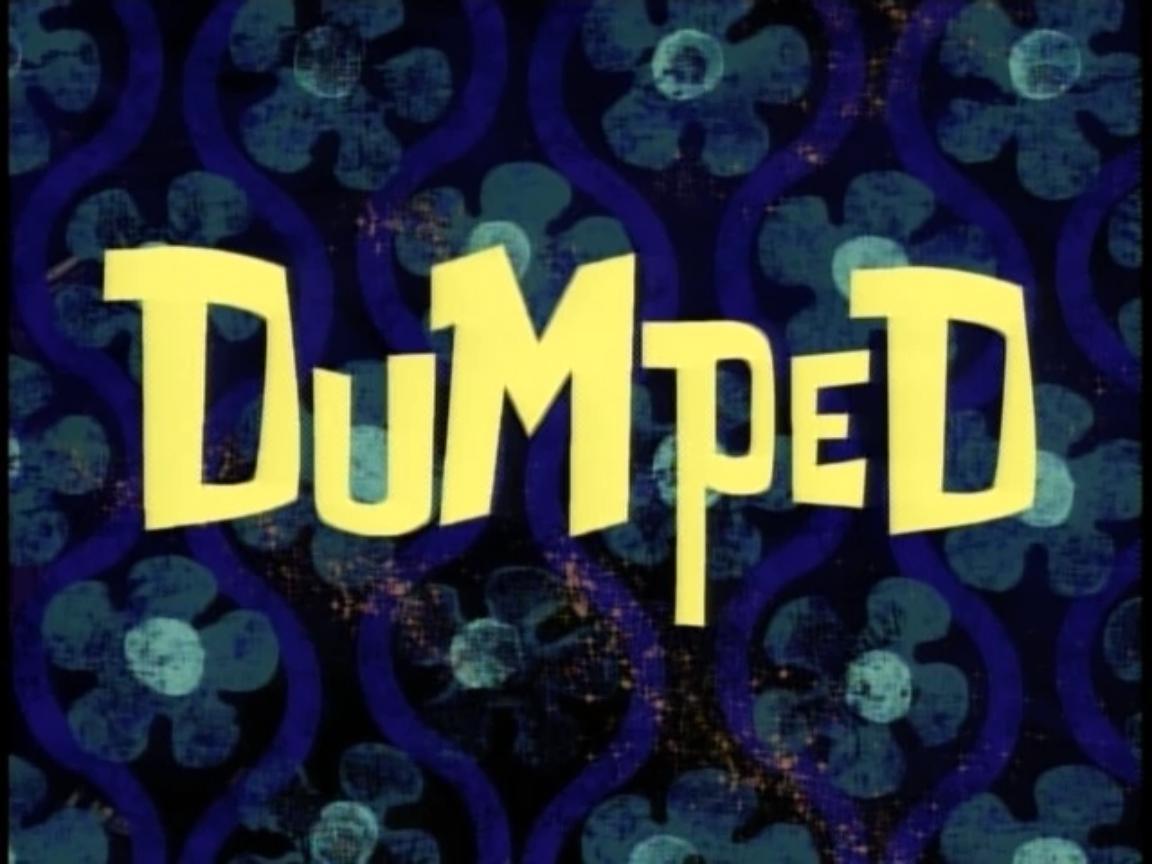 SpongeBob SquarePants — s02e17 — Dumped