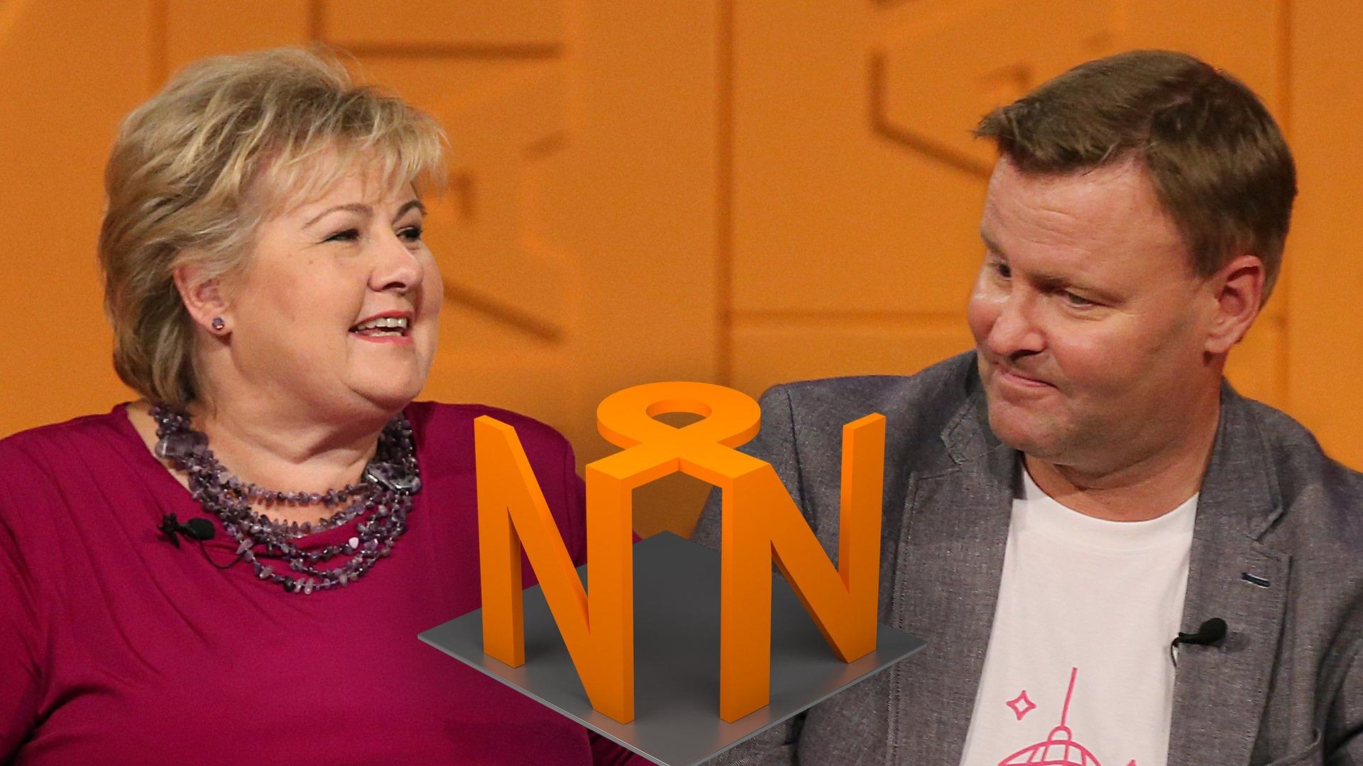 Новости о новостях — s43e01 — Erna Solberg og Espen Rostrup Nakstad