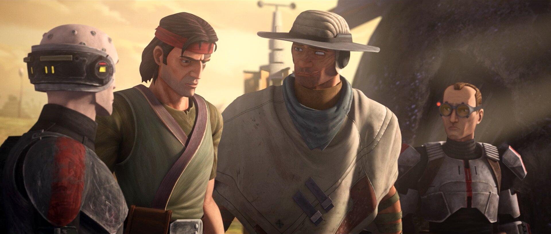 Star Wars: The Bad Batch — s01e02 — Cut and Run