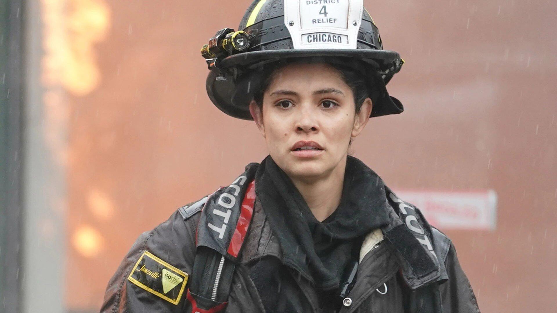 Пожарные Чикаго — s09e15 — A White-Knuckle Panic