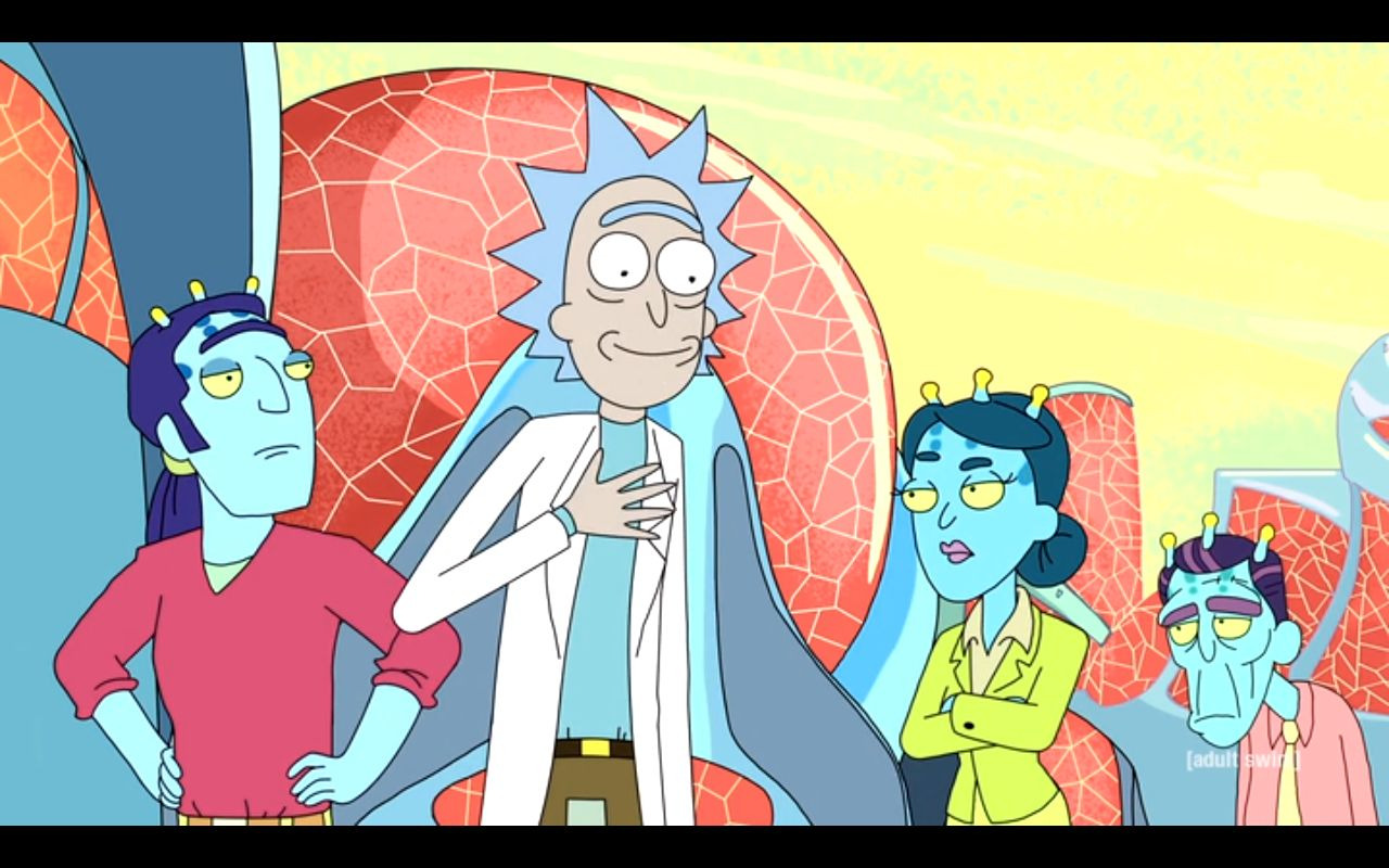 Rick and Morty — s02e03 — Auto Erotic Assimilation