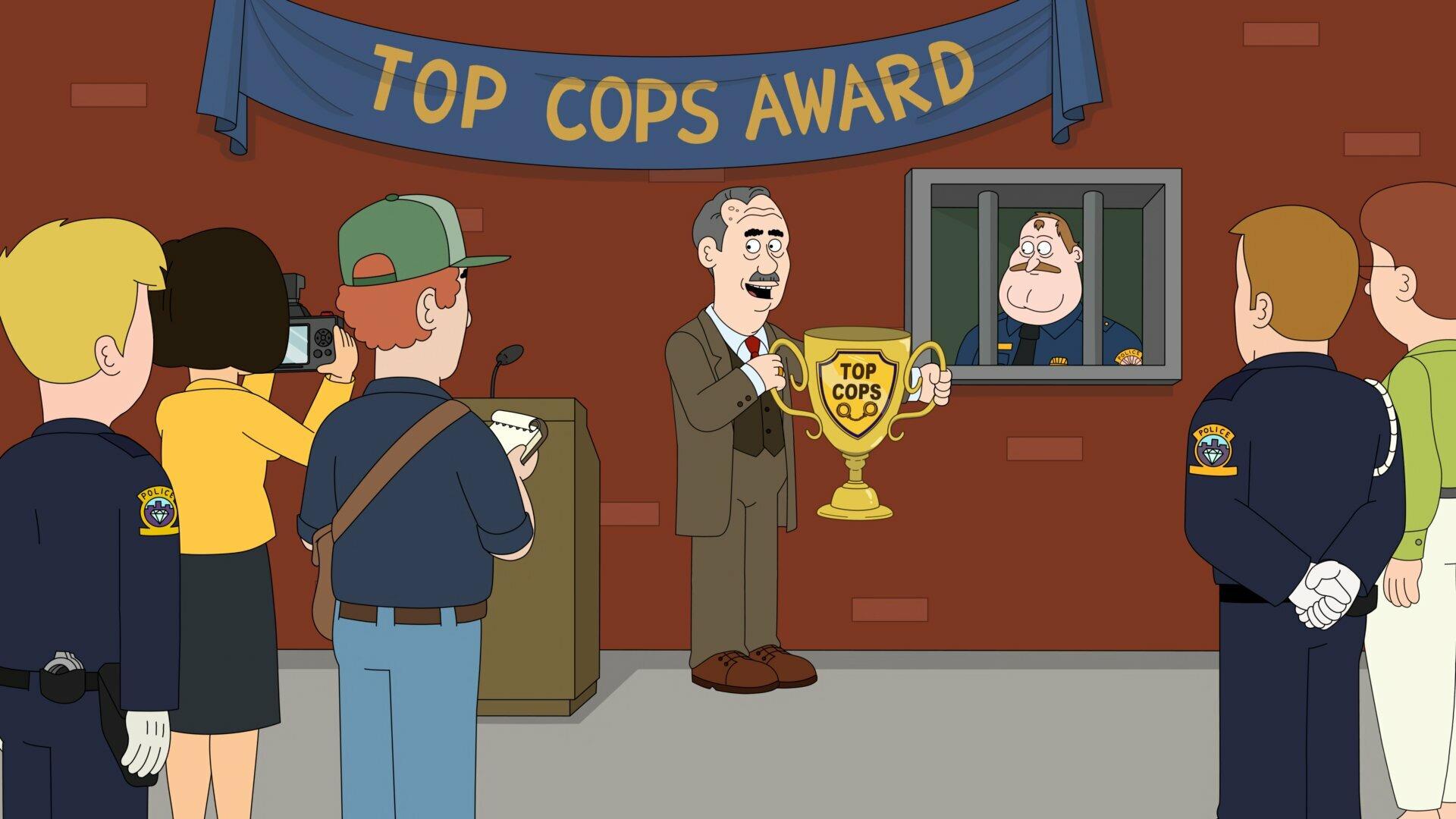 Полиция Парадайз — s03e02 — Top Cops