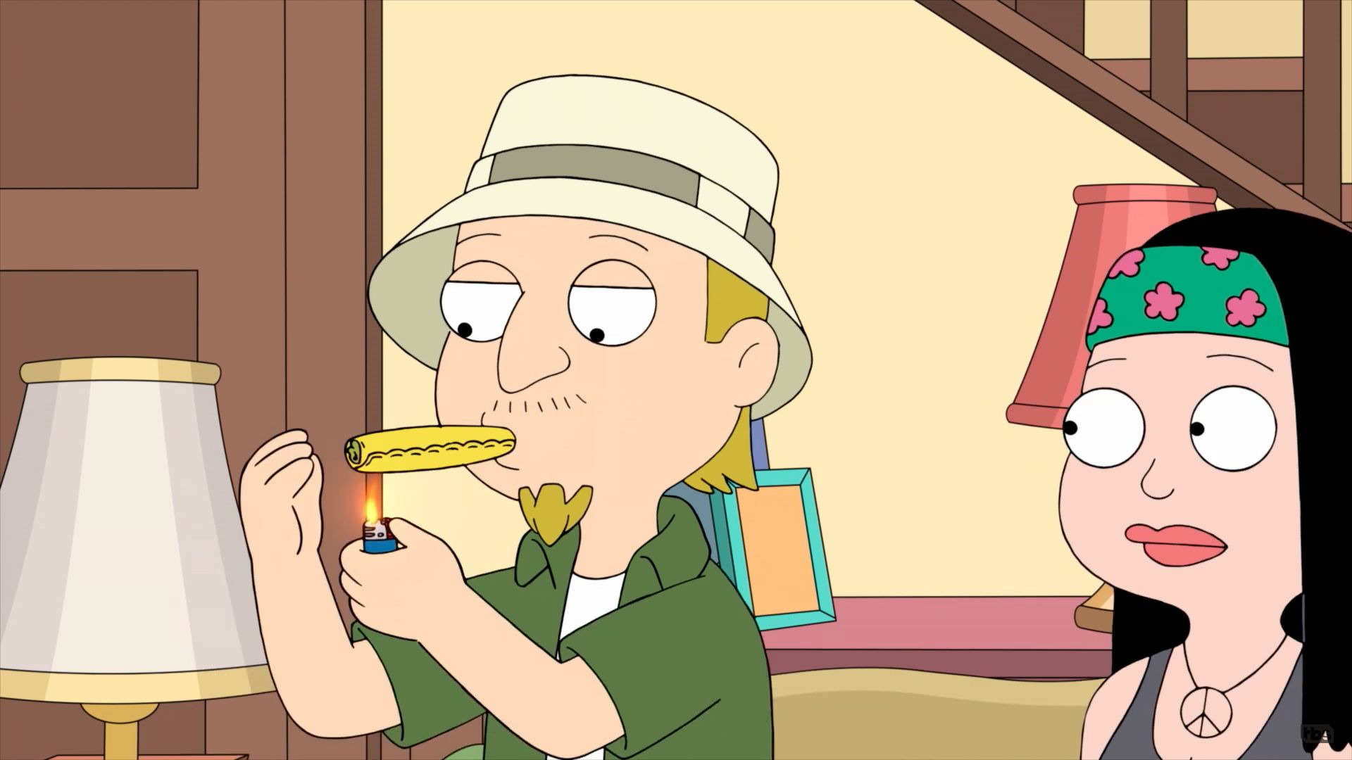 American Dad! — s15e05 — Jeff and the Dank Ass Weed Factory
