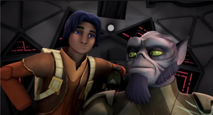 Star Wars Rebels — s01e04 — Fighter Flight
