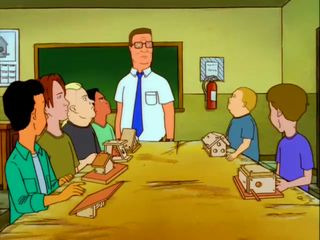 King of the Hill — s04e04 — Little Horrors of Shop