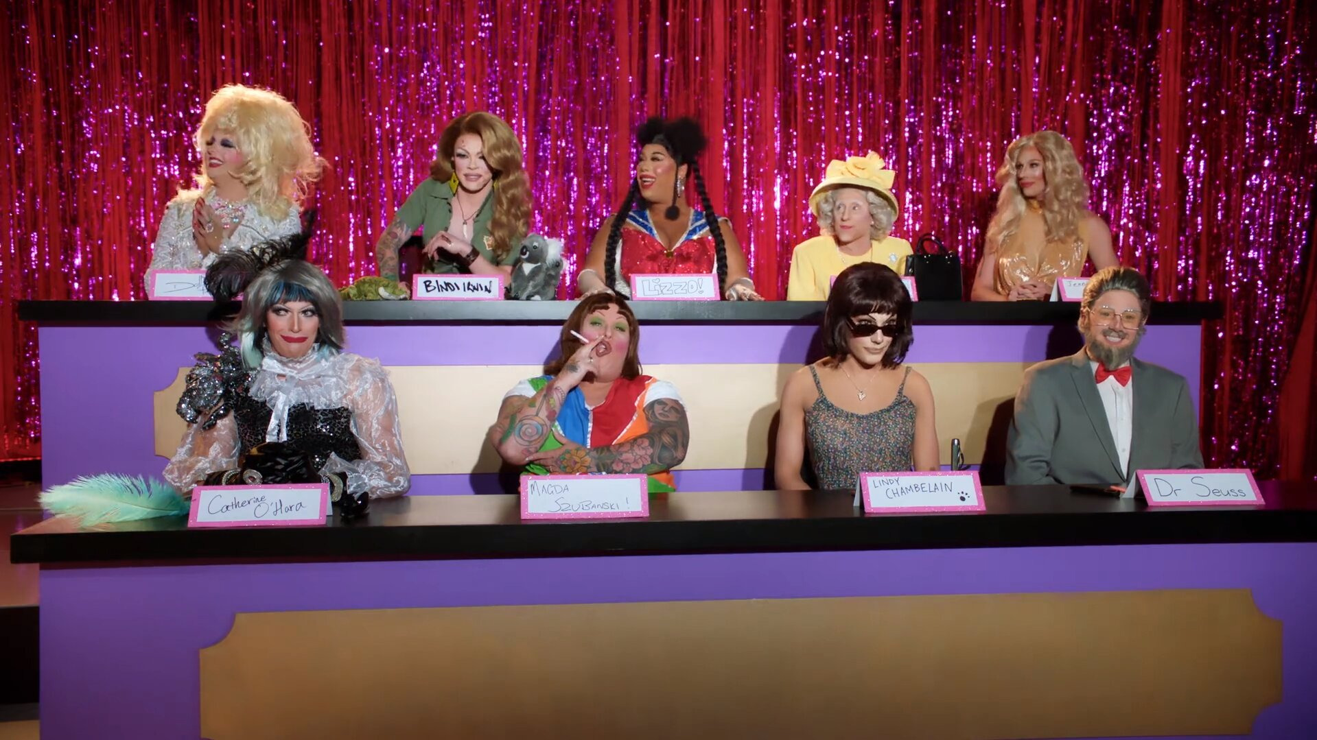 RuPaul's Drag Race Down Under — s01e02 — Snatch Game