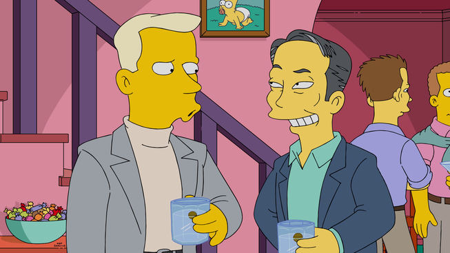 The Simpsons — s27e17 — The Burns Cage