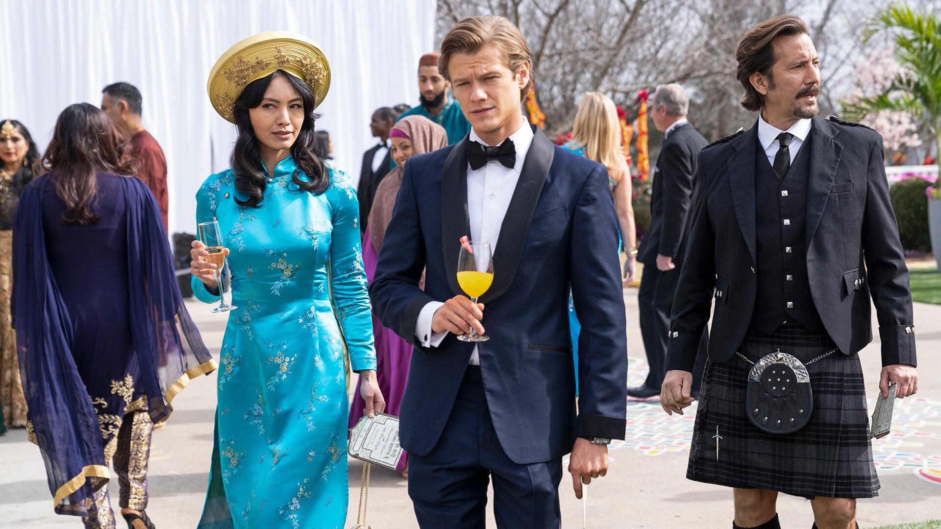 Новый агент МакГайвер — s05e12 — Royalty + Marriage + Vivaah Sanskar + Zinc + Henna