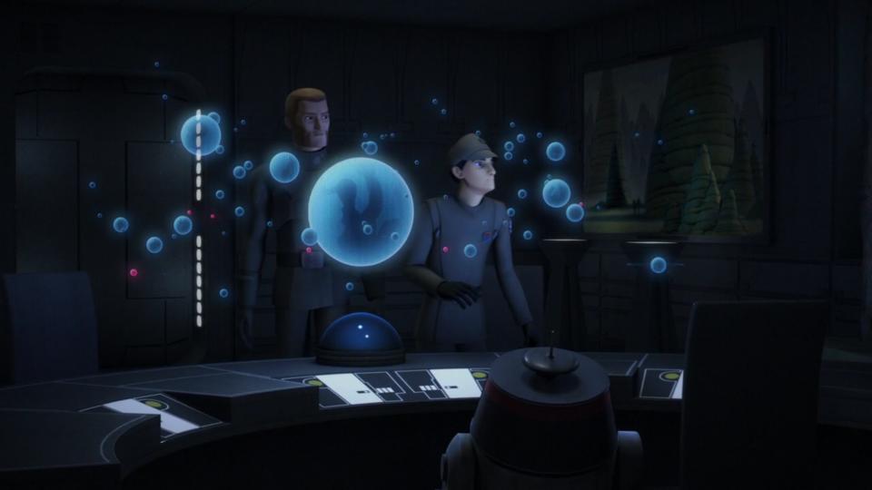 Звездные войны: Повстанцы — s03e17 — Through Imperial Eyes