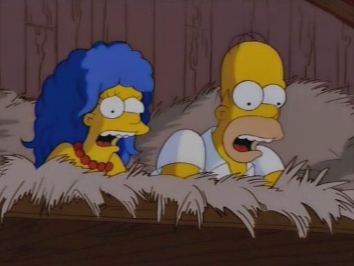 The Simpsons — s09e25 — Natural Born Kissers