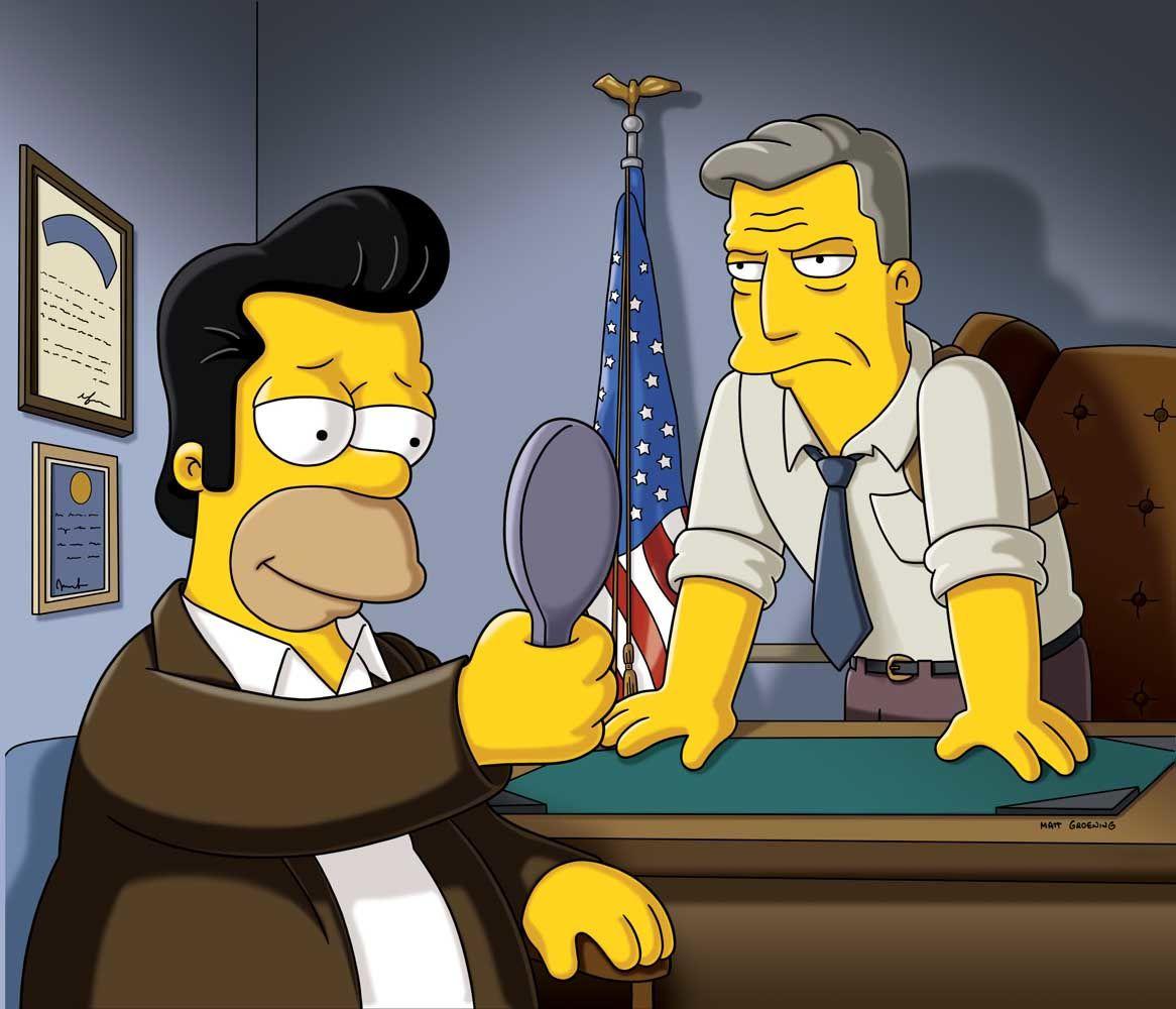 The Simpsons — s22e09 — Donnie Fatso