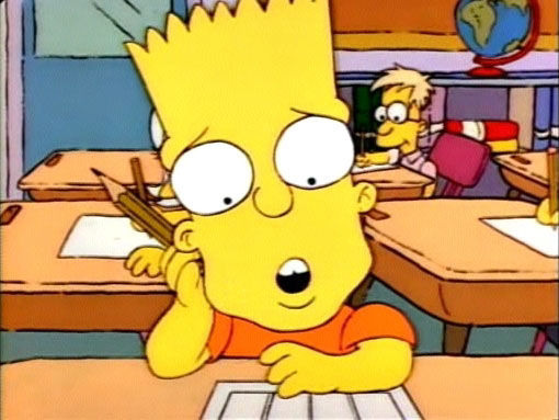 Симпсоны — s01e02 — Bart the Genius