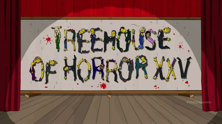 The Simpsons — s26e04 — Treehouse of Horror XXV