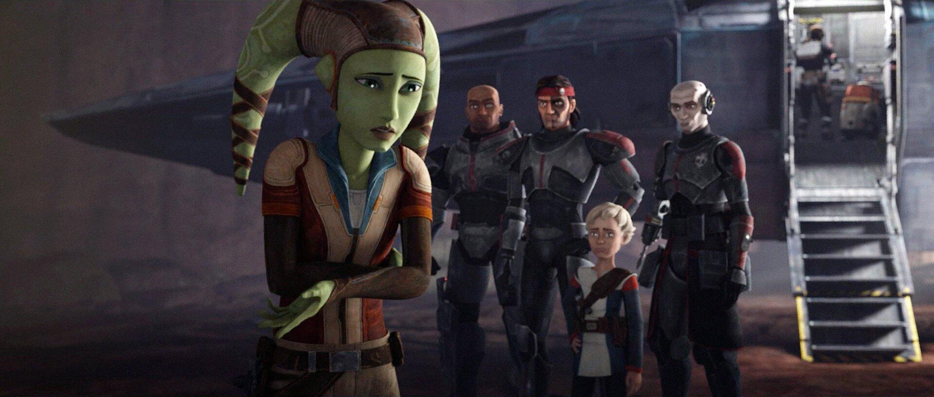 Звёздные войны: Бракованная партия — s01e12 — Rescue on Ryloth