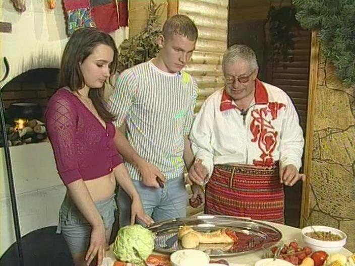 Секс с Анфисой Чеховой — s02e15 — Серия 21. Любовная кухня