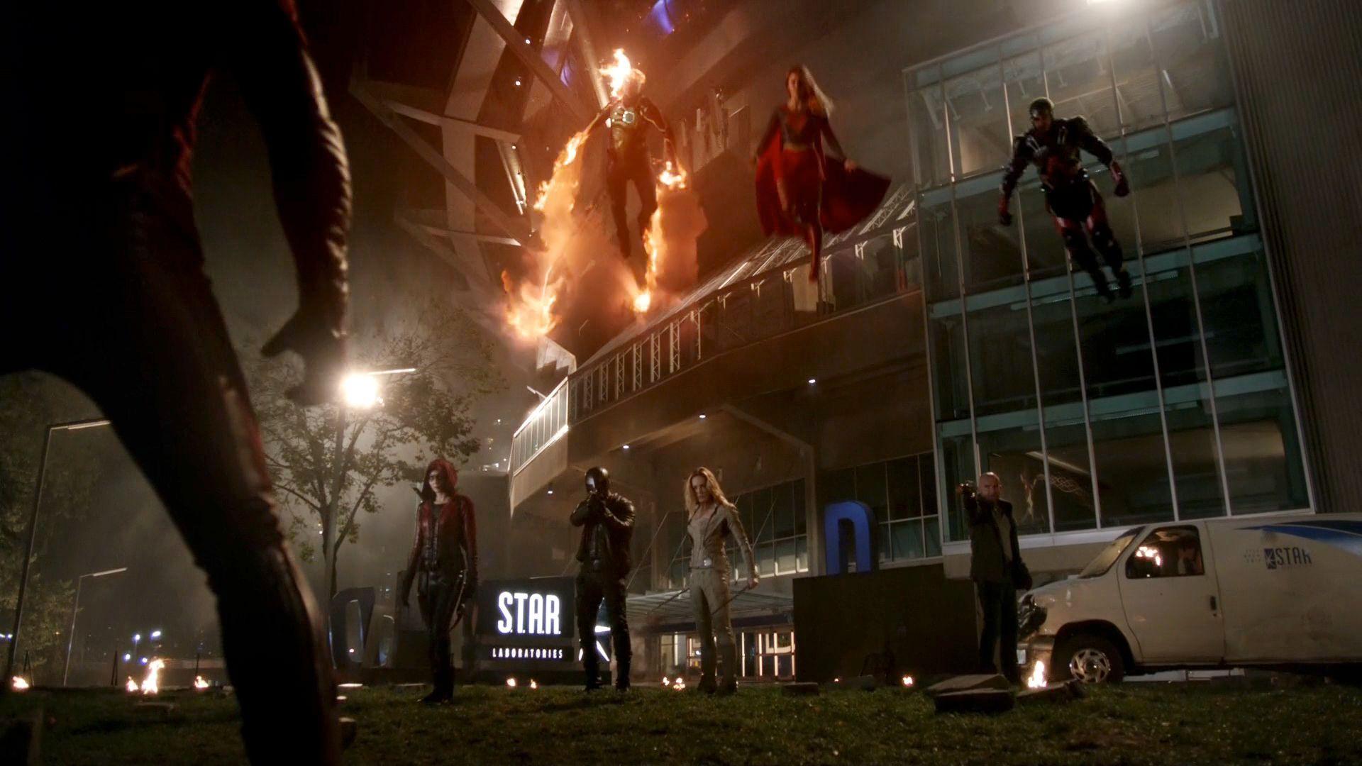 The Flash — s03e08 — Invasion!