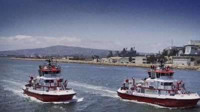 Mega Machines: Sea Giants — s01e01 — Firefighting Super Ships