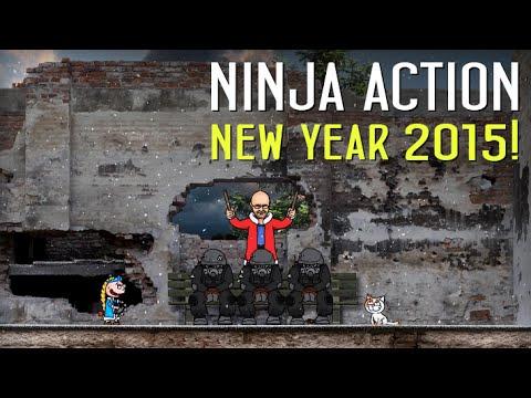 Animaction decks  — s04e14 — Ниндзя в деле: Новогодний выпуск 2015!