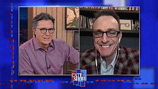 The Late Show with Stephen Colbert — s2021e50 — Hank Azaria, Jeff Goldblum, Cheap Trick