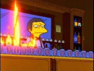 The Simpsons — s03e10 — Flaming Moe's