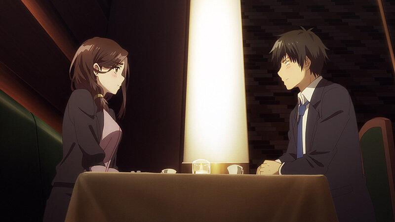 Побрился. Затем привел домой старшеклассницу.  — s01e01 — The Teenage Girl Beneath the Lamplight