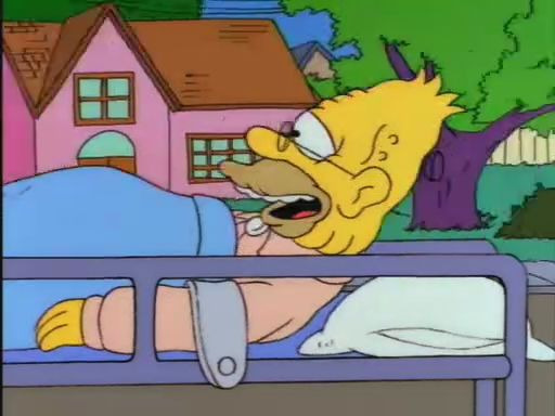 The Simpsons — s05e21 — Lady Bouvier's Lover