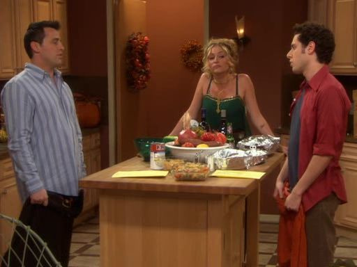 Джоуи — s02e10 — Joey and the Bachelor Thanksgiving