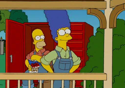 The Simpsons — s18e03 — Please Homer, Don't Hammer 'em