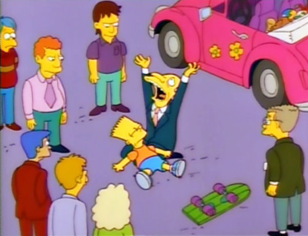 The Simpsons — s02e10 — Bart Gets Hit by a Car