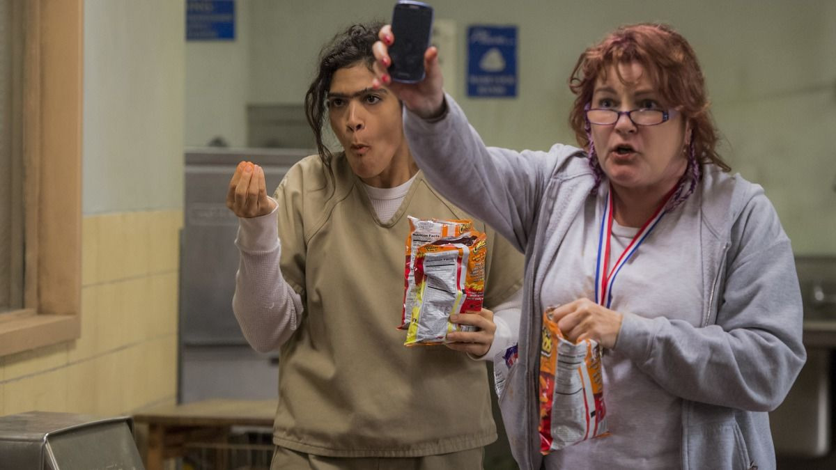 Orange Is the New Black — s05e06 — Flaming Hot Cheetos, Literally