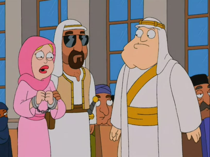 American Dad! — s01e13 — Stan of Arabia: Part 2