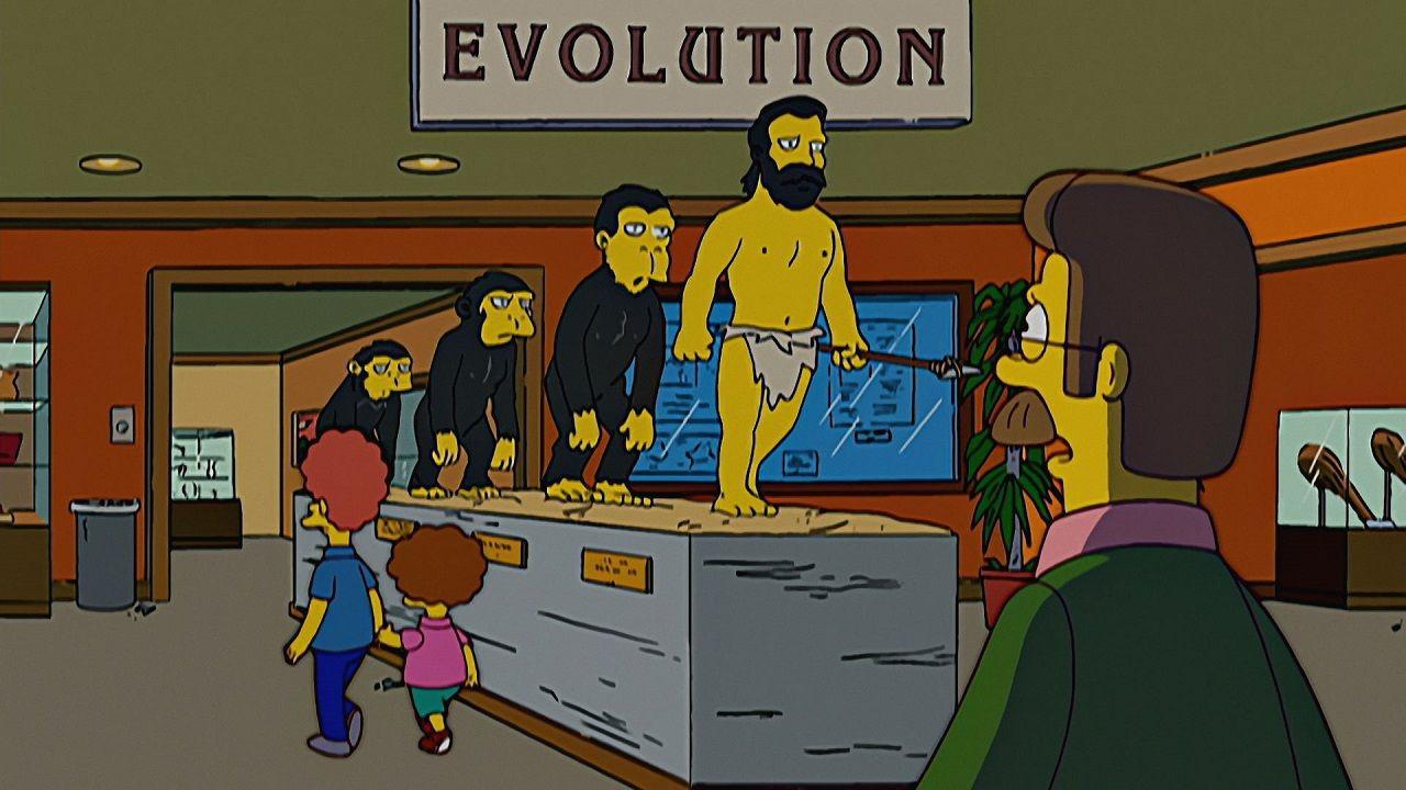 Симпсоны — s17e21 — The Monkey Suit